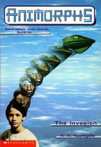Animorphs Book Cover